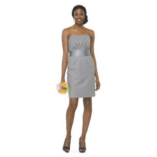 TEVOLIO Womens Lace Strapless Dress   Cement   6