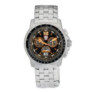 Luminox Men's 9382 Quartz Chronograph Stainless Steel Black Dial Watch Luminox Watches