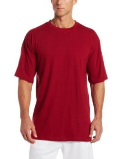 Russell Athletic Men's Big & Tall Basic Short Sleeve Solid Crew Neck T Shirt Clothing
