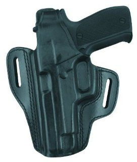 Gould & Goodrich B802 G30LH Gold Line Two Slot Pancake Holster   Left Hand (Black) Fits GLOCK 29, 30, 36  Gun Holsters  Sports & Outdoors