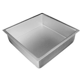 Fat Daddio's Anodized Aluminum Square Cake Pan, 18 Inch x 18 Inch x 3 Inch Kitchen & Dining
