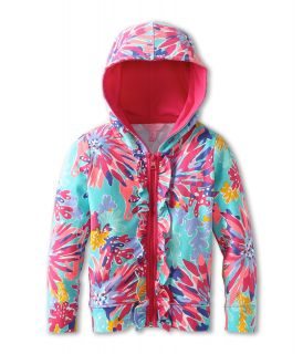 Lilly Pulitzer Kids Brigit Hoodie (Toddler/Little Kids/Big Kids) Aqua