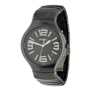 Rado Men's R27653162 True Fashion Polished Black Satin Ceramic Watch Watches