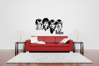 The Beatles Vinyl Wall Decal Sticker Graphic By LKS Trading Post   Wall Decor Stickers