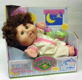 Cabbage Patch Kids Bedtime Bunnybee Baby  Brown Hair, Green Eyes Toys & Games