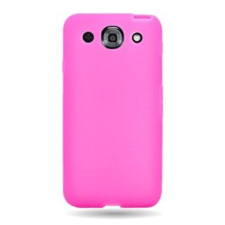 CoverON(TM) Soft Silicone HOT PINK Skin Cover Case for LG E980 OPTIMUS G PRO [WCG814] Cell Phones & Accessories