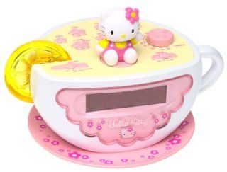 Hello Kitty Tea Cup Clock Radio with Nite Lite Electronics