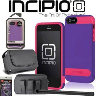 iPhone 5 Incipio OVRMLD Cover Case Purple Magenta iph 838 with Case that fits your Phone with the Cover on it, Stylus Pen and Radiation Shield. Cell Phones & Accessories