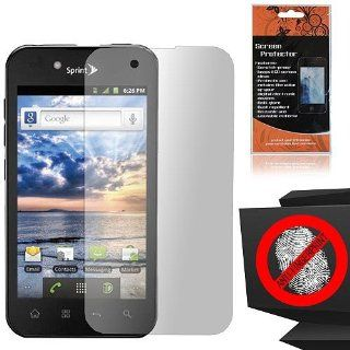 Anti Glare Screen Protector for LG Ignite 855 Marquee LS855 Sprint LG855 Boost L85C NET10 Straight Talk Optimus Black P970 L85C Majestic US855 US Cellular Cell Phones & Accessories