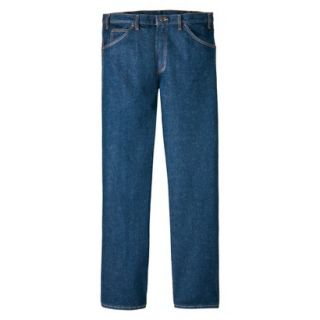 Dickies Mens Regular Fit 5 Pocket Jean   Indigo Blue 42x29