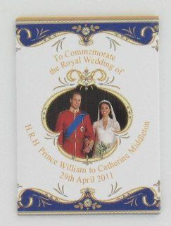 Royal Wedding Fridge Magnet (G870)   H.R.H Prince William to Catherine Middleton 29th April 2011 Kitchen & Dining