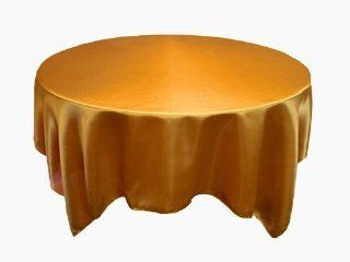 "90x90"" Square SATIN Table Overlays Wedding Decorations   Gold   Tablecloths"
