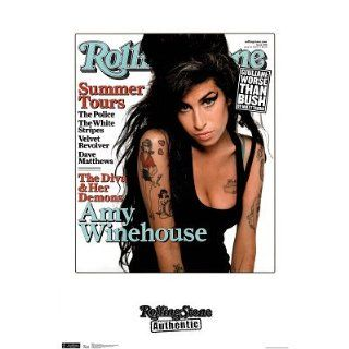 Amy Winehouse  Rolling Stone Cover Poster Poster Print, 22x27   The Rolling Stones Magazine