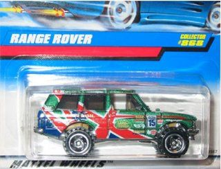 Hot Wheels Range Rover Collector # 868 Metal Flake Green Toys & Games