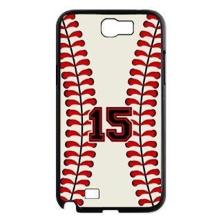 Custom Baseball Back Cover Case for Samsung Galaxy Note 2 N7100 N290 Cell Phones & Accessories