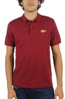 Lacoste LVE Short Sleeve Stretch Croc Pique Polo Shirt at  Men�s Clothing store