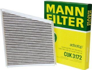 Mann Filter CUK 3172 Cabin Filter With Activated Charcoal for select  Mercedes Benz models Automotive