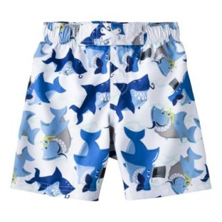 Circo® Infant Toddler Boys Shark Swim Trunk