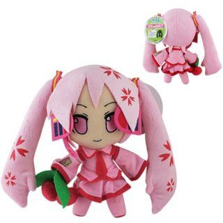 Japanese Anime Pink Hatsune Miku 29cm Soft Plush Doll Toy Toys & Games