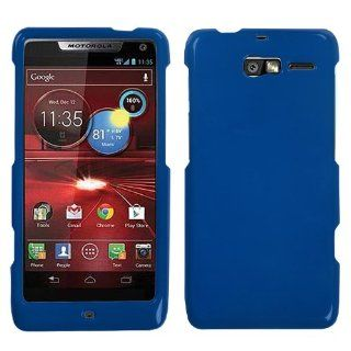 Asmyna MOTXT907HPCSO003NP Premium Durable Protective Case for Motorola Droid Razr M XT907   1 Pack   Retail Packaging   Dark Blue Cell Phones & Accessories