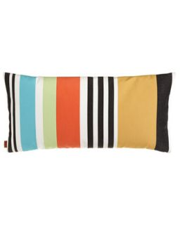 Olvan Stripe Outdoor Pillow   Missoni Home Collection