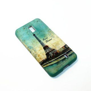 LG Revolution VS910 Tegra 2 Verizon Eiffel Tower Paris Romantic Snap on Hard Cover Case Cell Phones & Accessories