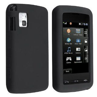 LG Vu / CU920 / CU915 PREMIUM BLACK SILICONE SKIN CASE COVER Cell Phones & Accessories