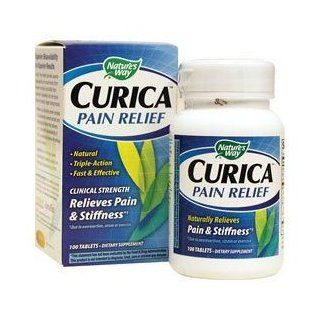 Nature's Way Curica Pain Relief   100 Tablets, Pack of 2 Health & Personal Care