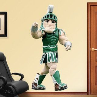 "Michigan State Spartans NCAA ""Sparty"" Mascot Fathead 3'1""W x 6'5""H  Huge"