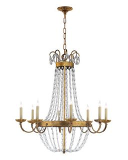 Large Paris Flea Market Chandelier   VISUAL COMFORT