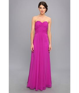 Faviana Ruched Strapless Sweetheart Gown 7315 Womens Dress (Purple)