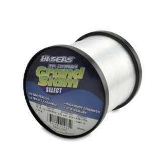 Hi Seas Grand Slam Select 1 Pound Spool 100 Percent Copolymer Line, Fluorescent Clear Blue  Fishing Line Spooling Accessories  Sports & Outdoors