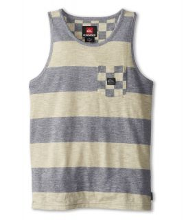 Quiksilver Kids Check Your Neck Tank Boys Sleeveless (White)