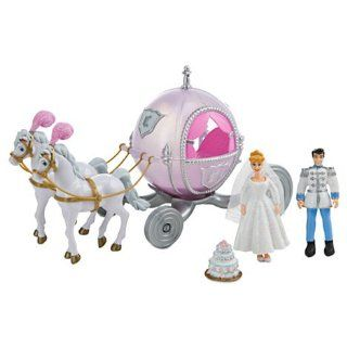 DISNEY OFFICIALLY LICENSED Cinderella Deluxe Wedding Play Set Toys & Games
