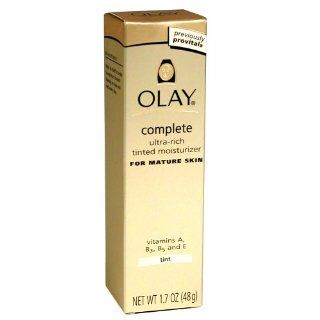 Olay Complete Ultra Rich Tinted Moisture Cream, 1.7 Ounce (Pack of 2)  Facial Moisturizers  Beauty