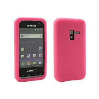Clear Pink Soft Silicone Gel Skin Cover Case for Samsung Galaxy Attain 4G SCH R920 Cell Phones & Accessories