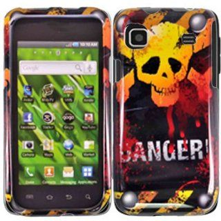 Danger Hard Case Cover for Samsung Vibrant T959 Galaxy S 4G T959V Cell Phones & Accessories