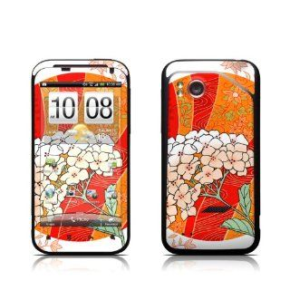 Oriental Daydreams Design Protective Skin Decal Sticker for HTC Rezound ADR6425 / HTC Thunderbolt 2 / HTC Droid Incredible HD Cell Phone Cell Phones & Accessories