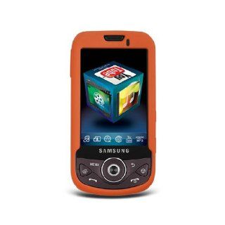 Orange Soft Silicone Gel Skin Cover Case for Samsung Behold II 2 SGH T939 Cell Phones & Accessories