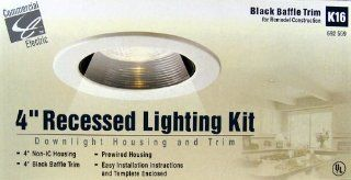 "4"" RECESSED LIGHTING KIT   Complete Recessed Lighting Kits"