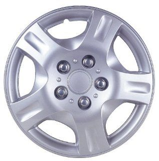 "Drive Accessories KT 942 14S/L, Nissan Altima, 14"" Silver Lacquer Replica Wheel Cover, (Set of 4) Automotive"