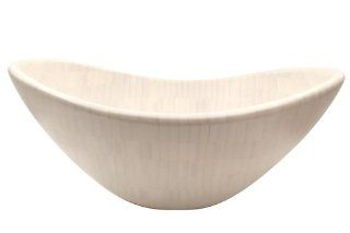 Acme International #67508 Ghost Bamboo Salad or Fruit Bowl, 10 Inch Kitchen & Dining