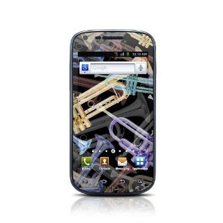 Trumpets Design Protective Skin Decal Sticker for Samsung Galaxy S Blaze 4G SGH T959 Cell Phone Cell Phones & Accessories