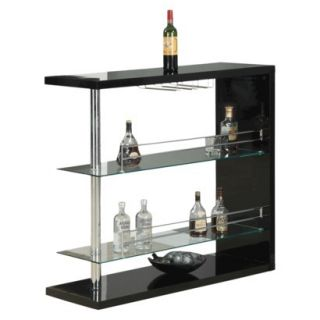 Monarch Specialties Pub Table   Black
