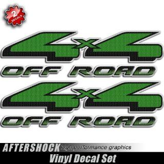 Green Hulk 4x4 Carbon Fiber Truck Decal Kawasaki Sticker  Hunting Signs  Sports & Outdoors