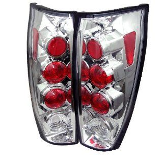 Spyder Chevy Avalanche Altezza Tail Lights   Chrome Automotive