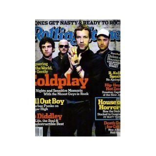 Coldplay Cover Rolling Stone Magazine August 25, 2005   Bo Diddley #981 Editors of Rolling Stone Books