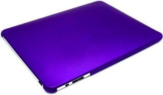 Purple Rubberized Snap on Hard Skin Shell Protector Cover Case for Apple Ipad Tablet Wifi 3g + Lcd Screen Guard Computers & Accessories