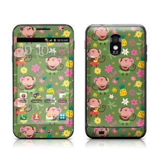 Hula Monkeys Design Protective Skin Decal Sticker for Samsung Galaxy S II Epic Touch Cell Phone Cell Phones & Accessories