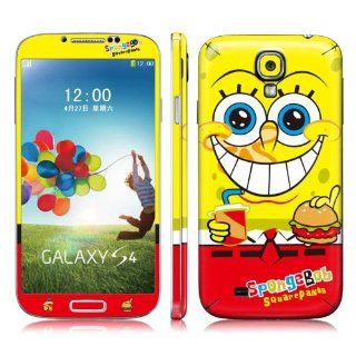 Spongebob Squarepants Full Body Vinyl Decal Protection 3M Sticker Skin Cover for Samsung Galaxy S4 i9500 Cell Phones & Accessories